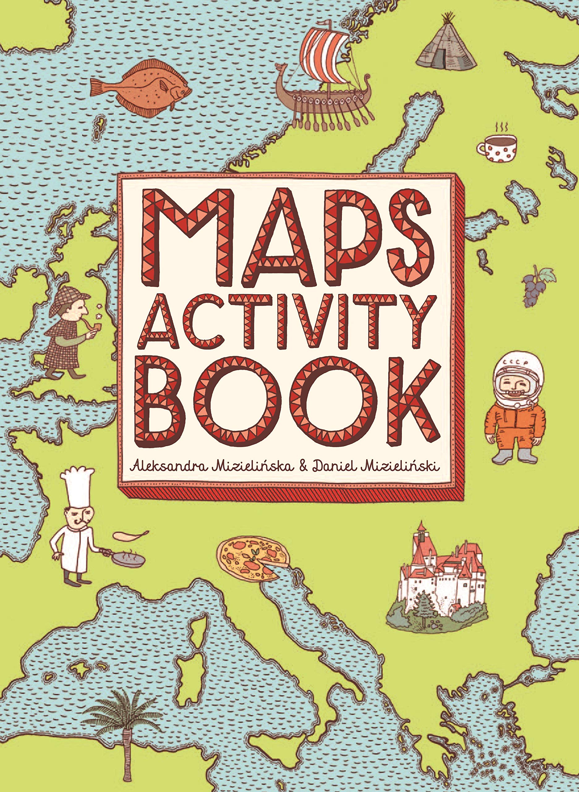 Image OfMaps Activity Book