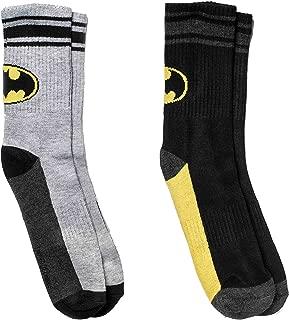 Boy's Batman Boys' 2-Pack Crew Socks