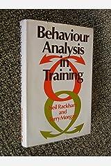 Behavior Analysis in Training Capa dura
