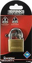 Brinks 171-40001 40mm Solid Brass Keyed Lock