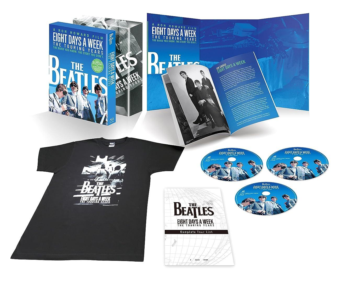 真実ヒントミシン目【Amazon.co.jp限定】ザ?ビートルズ EIGHT DAYS A WEEK  -The Touring Years Blu-ray コレクターズ?エディション(初回生産限定)(オリジナル特典:B2サイズ劇場版本ポスター付)(メーカー特典:A5サイズフォトシート付)