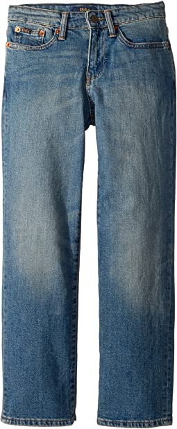 Polo Ralph Lauren Kids - Hampton Straight Stretch Jeans (Big Kids)