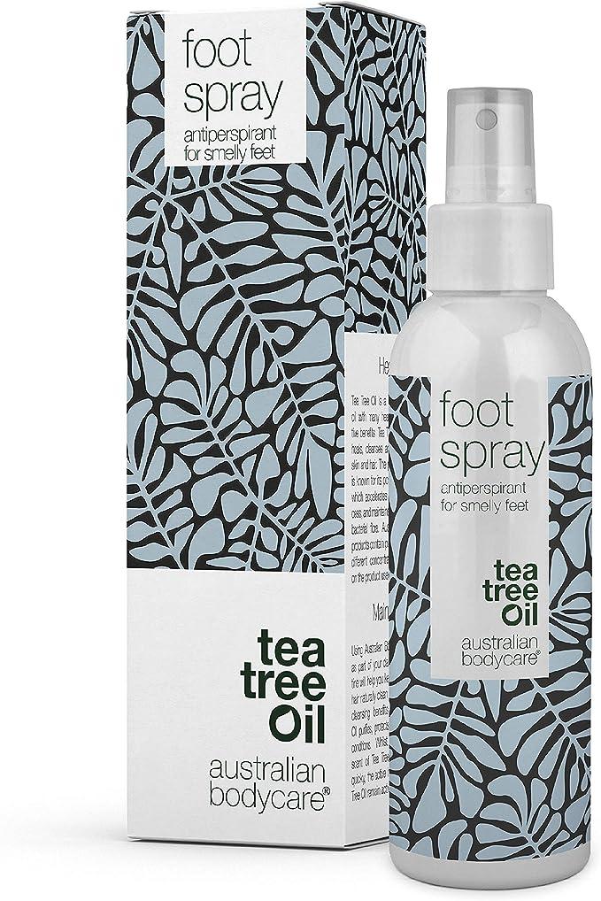 274 opinioni per Australian Bodycare Foot Spray 150 ml | Deodorante per piedi | Anti traspirante