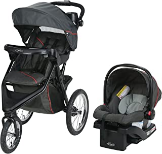 Best Graco Trax Jogger Travel System   Includes Trax Jogging Stroller and SnugRide 30 Infant Car Seat, Evanston Review