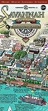 Savannah Historic District Illustrated Map.