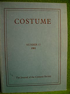 costume the journal of the costume society