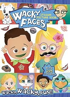 Bendon Wacky Faces Create-A-Face Sticker Book