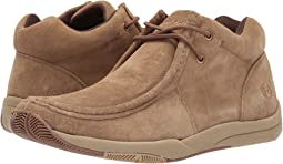 Tan Suede Leather Upper