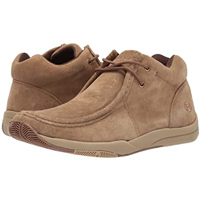 Roper Clearcut (Tan Suede Leather Upper) Men