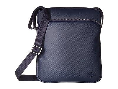 Lacoste Small Classic Crossover Bag (Peacoat) Cross Body Handbags