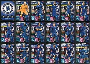 MATCH ATTAX 19/20 Chelsea Full 18 Card Team Set - Champions League
