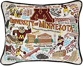 catstudio University of Minnesota Collegiate Embroidered Decorative Throw Pillow | Beautiful Award Winning Home Decor Artwork | Great for The Living, Family, Bed Rooms