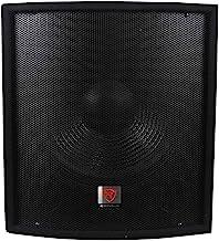 "Rockville SBG1158 15"" 800W Passive Pro DJ Subwoofer, MDF Cabinet/Pole Mount"