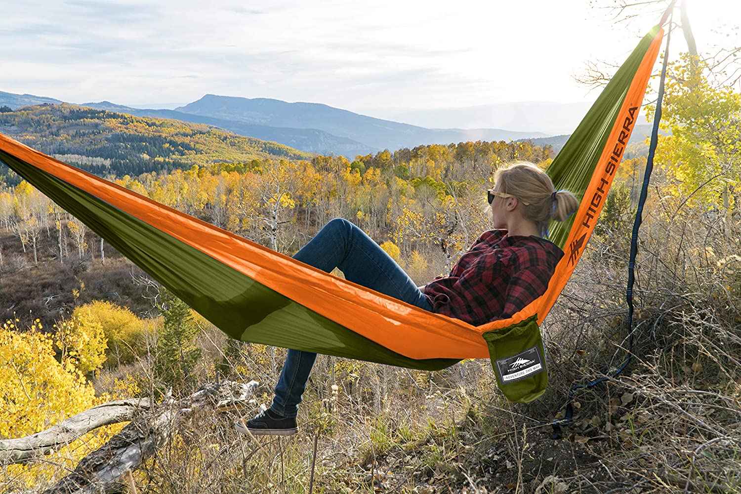 High Sierra Ranking Nashville-Davidson Mall TOP19 HS1596 Outdoor Camping Hammock Adults Qu with for 2