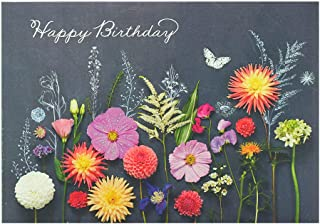 UK Greetings Birthday Card for Her - Friend Birthday Card - Beautiful Floral Design, 535787-0-1