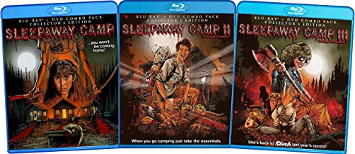 Sleepaway Camp Complete Movies 1-3: DVD / Blu-ray Combo Pack Collection