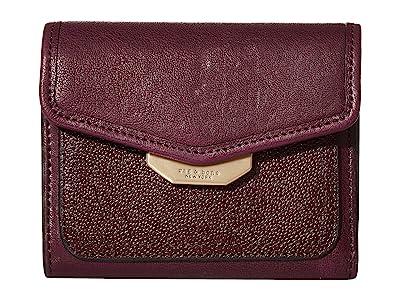 rag & bone Field French Wallet (Merlot) Wallet Handbags
