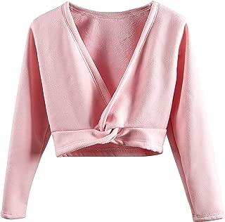 pink ballet cardigan girl