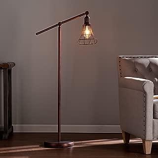 Southern Enterprises Tryker Floor Lamp, Copper Bronze