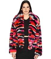 McQ - Cropped Fur Jacket
