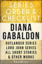 Diana Gabaldon Series Order & Checklist: Outlander Series, Lord John Grey Series, All Other Short Stories and Stand-Alone Books