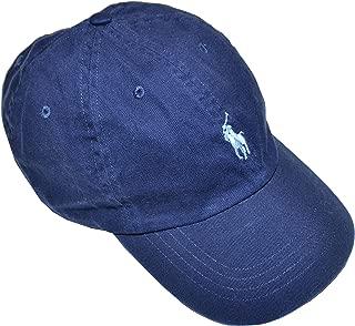 Ralph Lauren Polo Boys Classic Pony Logo Hat (8-20, Newport Navy)