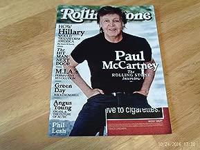 Rolling Stone Magazine (August 25, 2016) Paul McCartney Cover