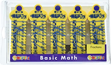 Learning Wrap-ups Fraction Kit with Self Correcting Math Problems