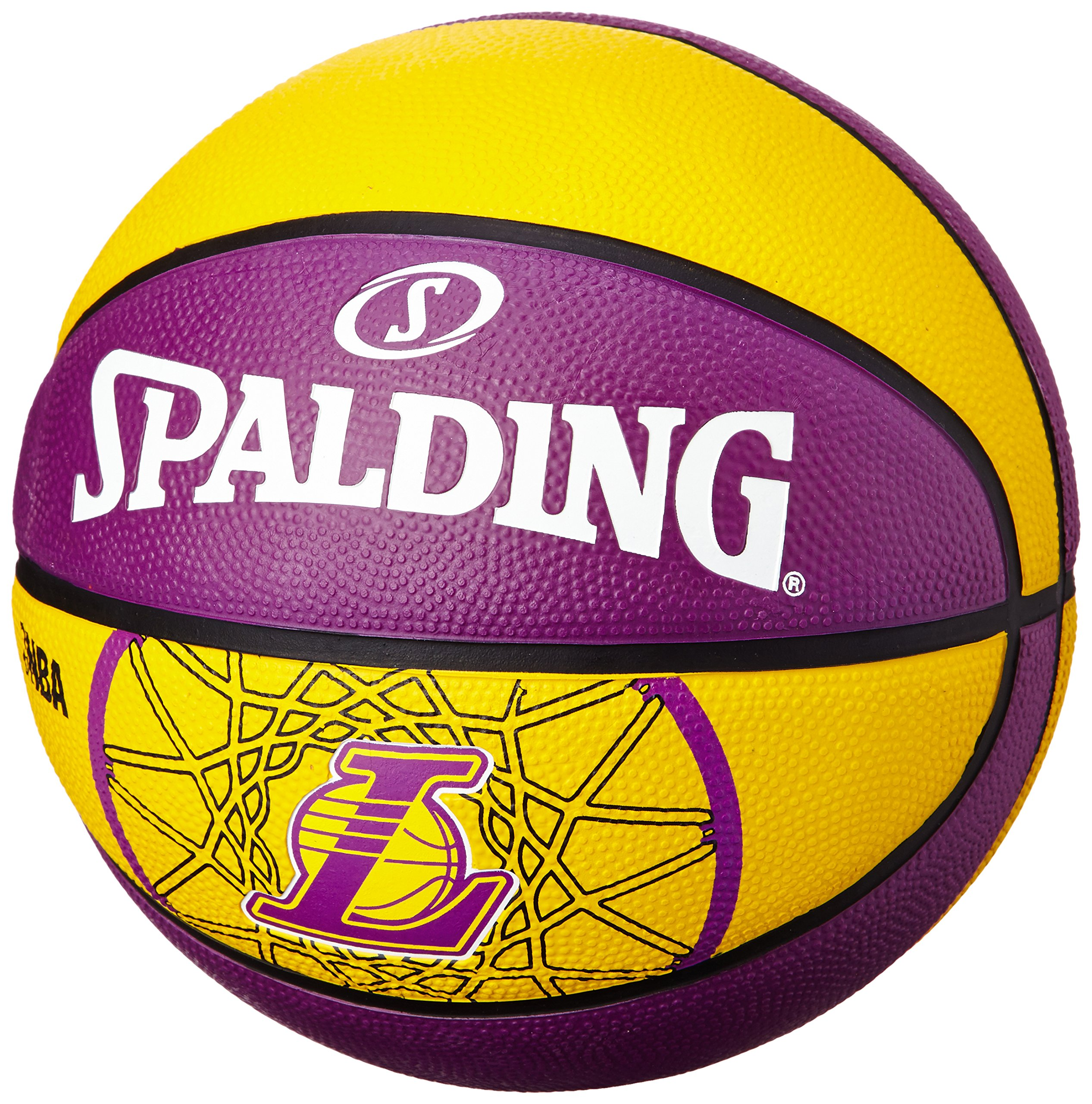 Spalding L.A.Lakers - Pelota de Baloncesto, Talla 7: Amazon.es ...