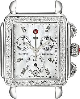 Deco Diamond, Diamond Dial Silver/Steel Watch Head
