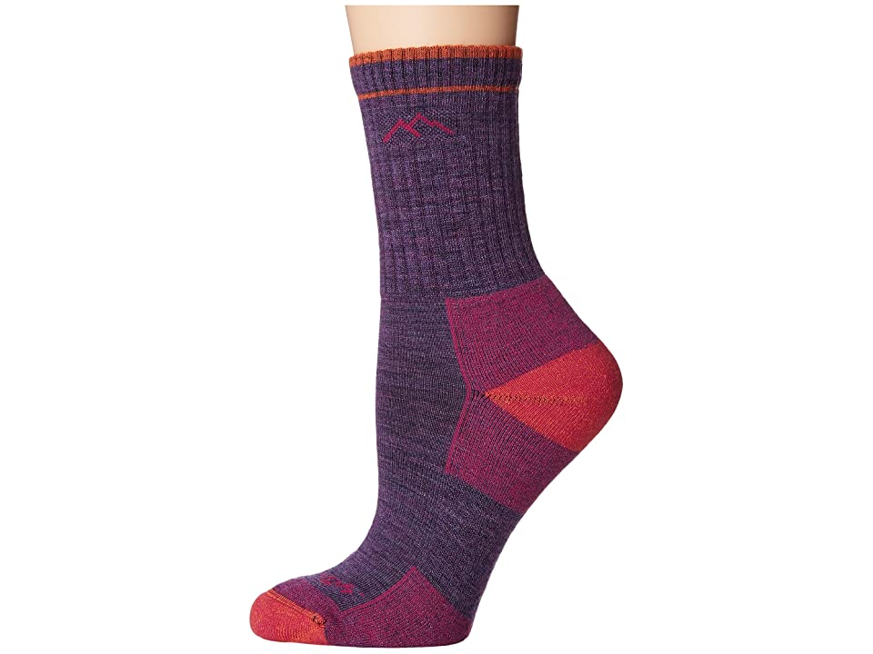Darn Tough Vermont - Darn Tough Vermont Merino Wool Micro Crew Socks Cushion , Purple