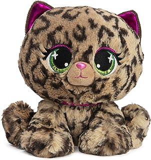 "GUND P.Lushes Designer Fashion Pets Sadie Spotson Leopard Premium Stuffed Animal, Black and Pink, 6"""