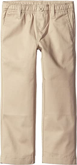 Nautica Kids - Elastic Waist Pull-On Twill Pants (Little Kids/Big Kids)
