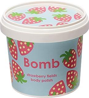 Bomb Cosmetics Strawberry Fields Shower Polish