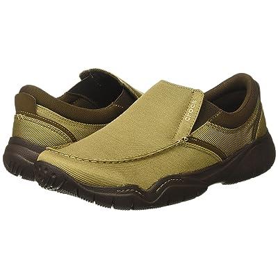 Crocs Swiftwater Casual Slip-On (Khaki/Stucco) Men