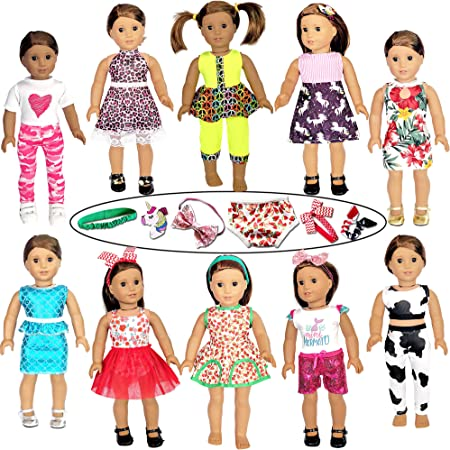 """DOLL DREAMS doll clothes fit 18/"""" American Girl dolls Funky Fun SALE Lot 64"""