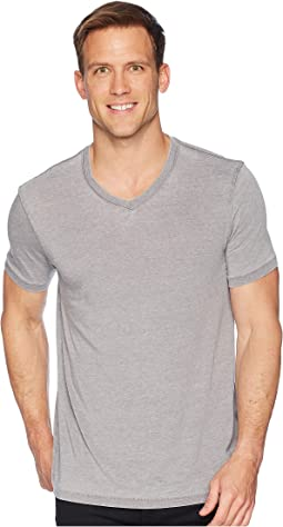 Lucky Brand Venice Burnout V-Neck Tee