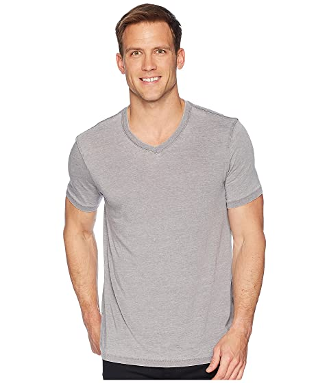 Cheap Sale Original Lucky Brand Venice Burnout V-Neck Tee Frost Grey Really Online Sneakernews Sale Online Where Can You Find Outlet Inexpensive OR0nYe
