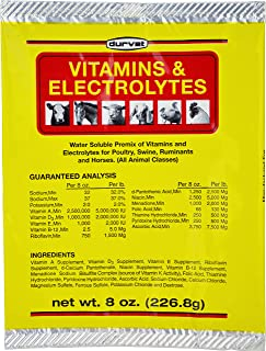 Durvet 136028 Vitamins & Electrolytes, 8 oz