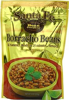 Santa Fe Bean Company Borracho Beans 9-Ounce Pouch (Pack of 8) Instant Borracho Beans; All Natural; High in Fiber; A Great...