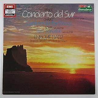 Ponce: Concierto Del Sur / Chavez: Zarabanda for Strings / Soler: Tres Sonatas / Enrique Batiez, Orquesta Sinfonica Del Estado De Mexico (HMV Greensleeve)