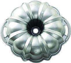 Nordic Ware 50037 Platinum Collection Anniversary Bundt Pan Silver