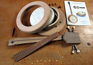 Tenor Banjo Kit- Easy DIY Woodworking Project; 4 Strings