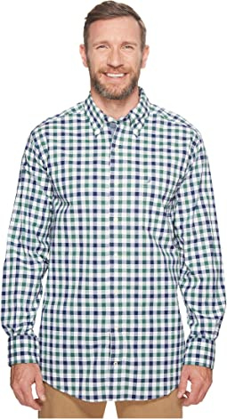 Nautica Big & Tall - Big & Tall Long Sleeve Gingham Shirt