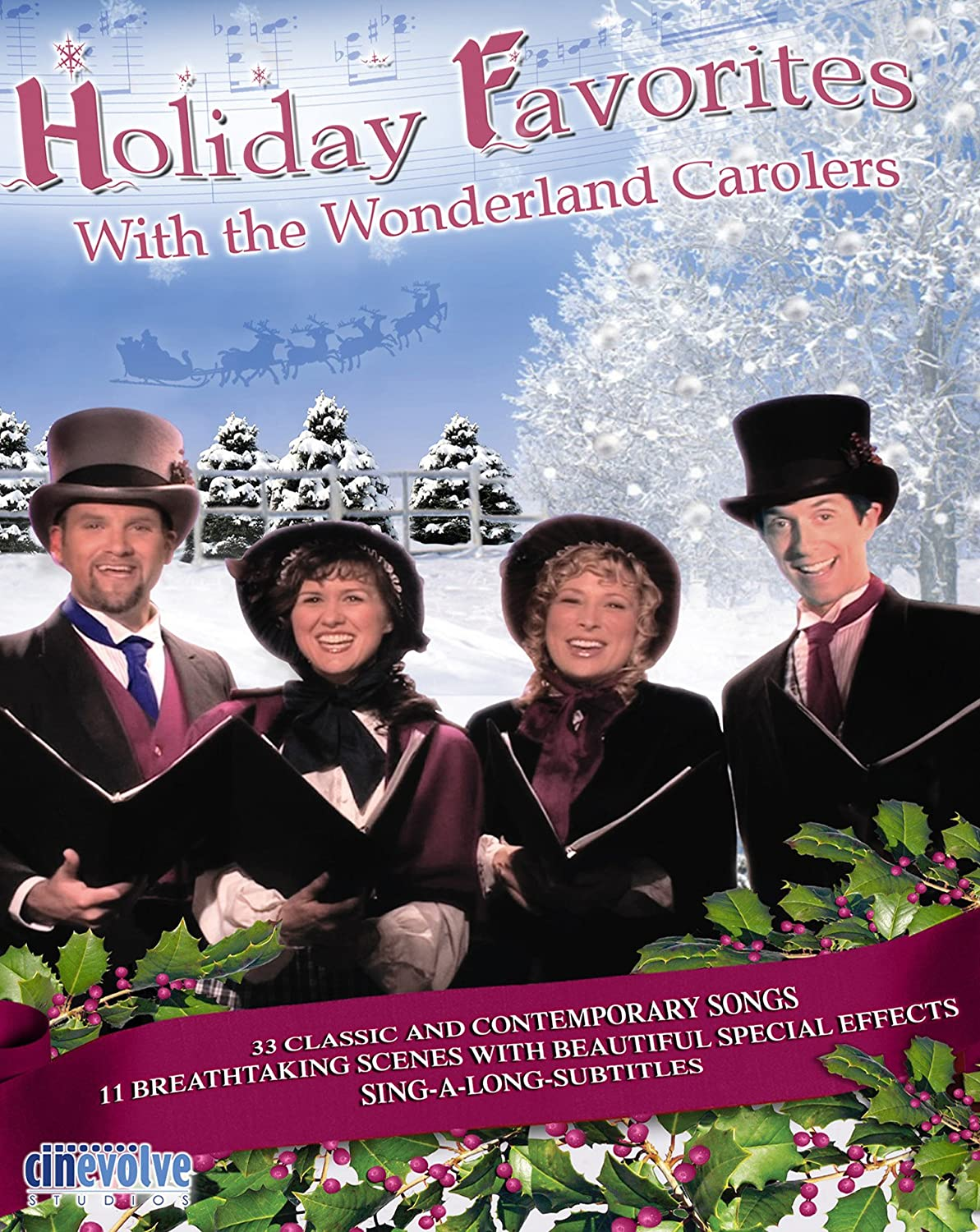 Holiday Boston Mall Favorites with the Wonderland Blu-ray Over item handling Carolers
