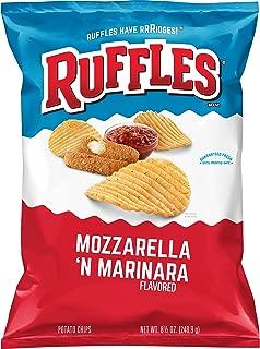 Ruffles Mozzarella & Marinara Flavored Potato Chips, 8.5 Ounce