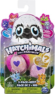 comprar comparacion Spin Master- CollEGGtibles 2 Pack Nest-Season Hatchimals Série 2-Modèle Aléatoire, Multicolor (6041329) , color/modelo sur...