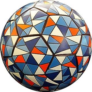 TBC Soccer Ball Size 5 Blue Black Orange for Kids &...