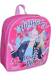 A18477 Jojo Siwa Reverse Sequin 12 Inch Backpack