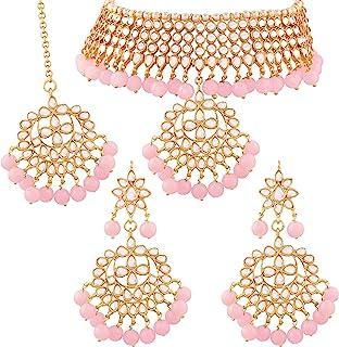 8ffb9b8846b0c Pink Women's Jewellery Sets: Buy Pink Women's Jewellery Sets online ...